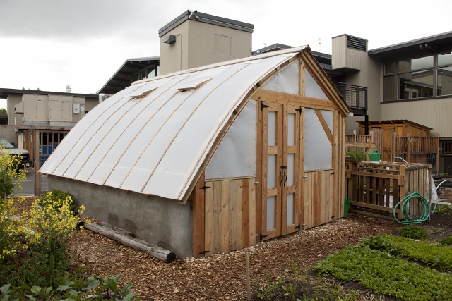 Greenhouse university of montana bad goat forest products for Bow roof house plans